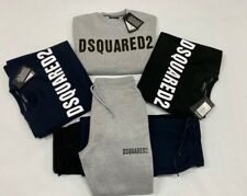 Mens DSQUARED2  Tracksuit Top & Bottom  in all sizes S M L XL  XXL Three Colors