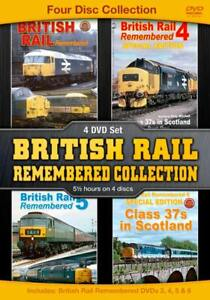 British Rail Remembered Collection (4 disc set)