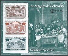 1992 PORTOGALLO FOGLIETTO COLOMBO CONGIUNTA ITALIA MNH ** - ED4