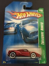 HOT WHEELS SUPER TREASURE T HUNT ENZO FERRARI RUBBER TIRES 2007 RARE RED SEATS !