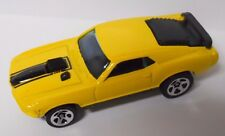 1998 Hot Wheels First Editions Mustang Mach 1 #670-Yellow and Black Paint