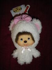 Original Monchhichi Monchichi Anhänger Weißes Schaf Sekiguchi NEU Weihnachten