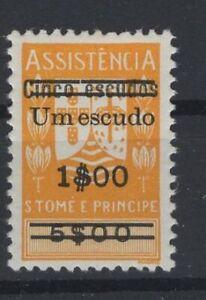 PORTUGAL & COLONIES, S. TOME E PRINCIPE STAMPS, 1965, Mi. 14 **.
