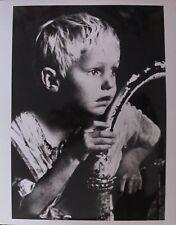 CARL MYDANS ORIGINAL 1937 PHOTO LIFE MAGAZINE - BOY IN OIL BOOM TOWN FREER TEXAS
