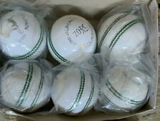 6-Pack RS Sports Pro- Quality Cricket Ball - 5 Layers - Hand Stitched 5.5 OZ