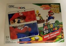 Nintendo 3DS XL Super Mario 3D Land Edition Box + Manual ONLY NO System
