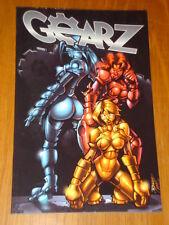 Gearz Blue Water Comics Dan Rafter Graphic Novel 9781616239299