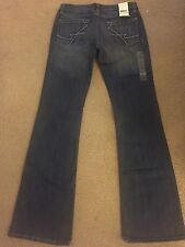 NWT Womens Size 8 Kenneth Cole Low Rise Boot Cut Jeans
