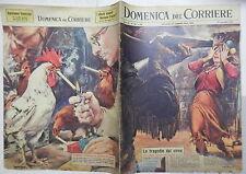 LA DOMENICA DEL CORRIERE 18 novembre 1962 Tragedia nel circo Togni Tony Renis di