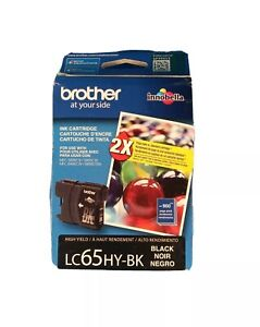 Brother Innobella LC 65 Ink Cartridge High Yield 900 Pages LC65HY-BK Black NEW