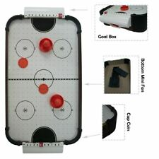 Classic Wooden Mini Air Hockey Game Toys with 3 Pucks & 2 Pushers