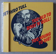 CD  ** JETHRO TULL. TOO OLD TO ROCK'N'ROLL ** VINYL REPLICA JAPAN EDITION