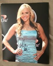 Jennie Finch Signed 8 X 10 Photo Autographed