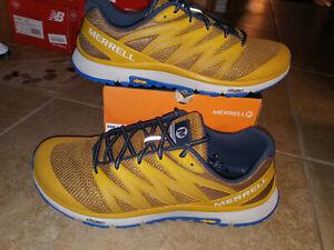 NEW $100 Mens Merrell Bare Access XTR Trail Running Shoes, sz 13