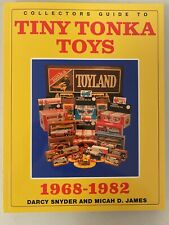 1968-82 Tiny Tonka Collectors Guide Double signed By Authors Soft Cover Edition