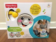 Fisher Price Learn-to-Flush Potty Twirling Water Action Potty Training