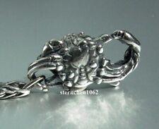 Trollbeads * Krabben Verschluss  * Crab Lock * 925 Silber