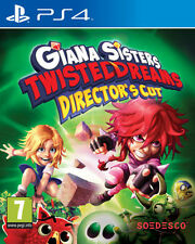 Giana SORELLE Twisted SOGNI direttore's Cut PS4 * NUOVO SIGILLATO PAL *