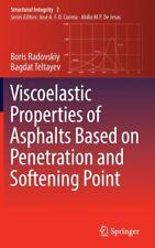 Viskoelastische Eigenschaften von Asphalt Bas