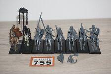Warhammer fantasy batallón Reyes no-muertos Esqueleto Caballeros x 8 Lote 755