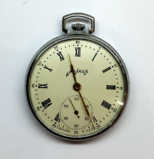 Unique Molnija rare old USSR pocket watch mechanical movement Good conditions