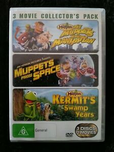 Near Mint Muppet Show Take Manhattan From Space Swamp Years Triple DVD