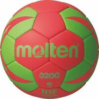 Molten Handball Trainingsball Synthetik Leder Ball IHF Rot / Grün