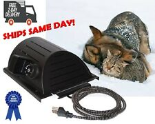 Akoma Hound Heater Dog House Furnace Deluxe w/Cord Protector & Mounting Template