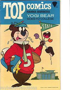 K.K. Publications / Gold Key Top Comics Hanna-Barbera Yogi Bear # 2. 1967. VF/NM