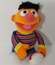 "2011 Gund Sesame Street ERNIE #075365 14"" Muppet Plush Toy EUC"