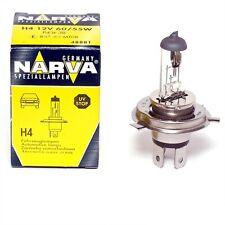 NARVA HEADLIGHT GLOBE H4 12V 60/55W MADE IN GERMANY : 48881