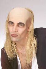 Rocky Horror Picture Show Riff Raff Wig Hair Bald Cap Adult Costume Accessory