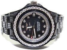 Women's Breitling Colt Oceane A77380 SS W/ Black PVD 10ct White & Black Diamond