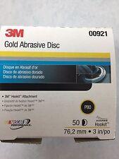 3M™ Hookit™ Gold Disc, 3 inch, P80 grit, 00921 921 50 Discs Per Box