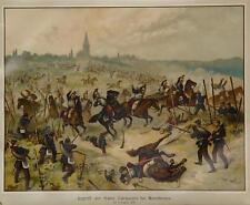 Reichshoffen Alsazia Wörth Morsbronn Cavalleria Kürassier Sachsen Schnellfeuer