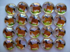 GLASS GEMS HP  PARTY FAVORS   art  horse  horses