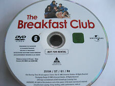 THE BREAKFAST CLUB starring Molly Ringwald, Emilio Esteves, Paul Gleason {DVD}
