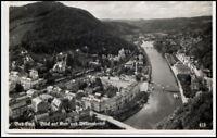 BAD EMS Rheinland-Pfalz Dt. Reich AK 1939 Villenviertel alte Postkarte