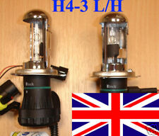 H4 6000K H4-3 BI XENON HI LOW BEAM HID BULB BULBS replacement U.K. SELLER