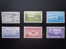 1951 US Commemorative Year Set Complete  #998-1003  MNH