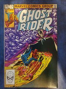 GHOST RIDER #74 (1982) MARVEL