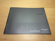 Very rare Booklet JAEGER-LECOULTRE & ASTON MARTIN - AMVOX1 - English & Spanish