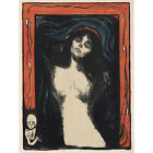 PAINTING EDVARD MUNCH MADONNA 2 12 X 16 INCH ART PRINT POSTER PICTURE HP2158
