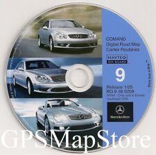 2001 2002 2003 Mercedes S600 S500 S430 S55 Navigation CD Map 9 Cover AL FL GA SC