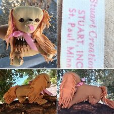 Vintage A Stuart Creations Stuart Inc St Paul Minn Stuffed Animal Dog Pekingese?