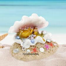 Mermaid Treasure w Shell GO 17608 Miniature Fairy Garden