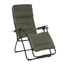 Lafuma LFM3123-7057 Futura Air Comfort XL Series Outdoor Relaxation Chair, Taupe