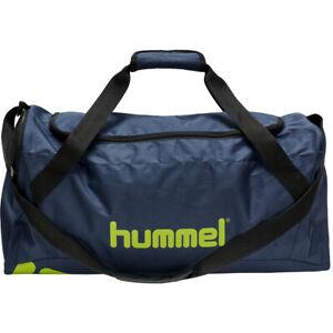 HUMMEL Core Sports Bag    Größe L   Dunkelblau/Gelb   NEU