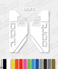 RockShox Dart Decals / Stickers - Single Colour - Custom / Fluorescent Colours