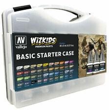 Vallejo Wizkids Premium Basic Starter Paint Set - VAL80260